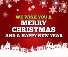 New Year & Christmas Greetings