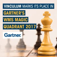 Gartner positioned Vinculum in 2017 Magic Quadrant for Warehouse Management Solutions