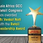Venkat Nott, Vinculum Group Awarded Retail Leadership Award at Asia Retail Congress, Mumbai
